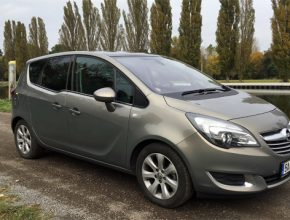 auto LPG Opel Meriva