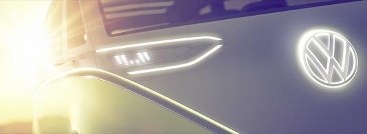 auto autosalon Detroit 2017 elektromobil Volkswagen I.D.