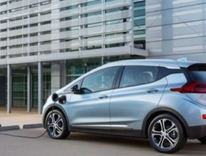 auto elektromobil Chevrolet Bolt 80kWh rychlonabíjení