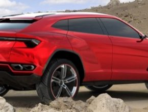 auto Lamborghini Urus SUV plug-in hybrid