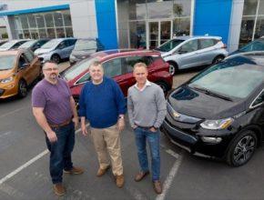 auto první zákazníci elektromobilu Chevrolet Bolt EV