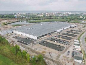 auto továrna SolarCity a Panasonic v Buffalu na výrobu solárních článků