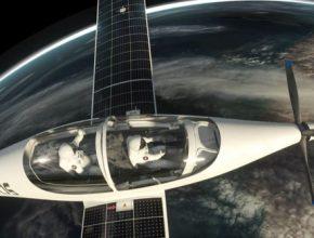 auto solární letadlo elektrické SolarStratos