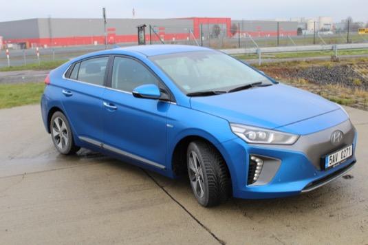 test Hyundai Ioniq Electric elektromobil
