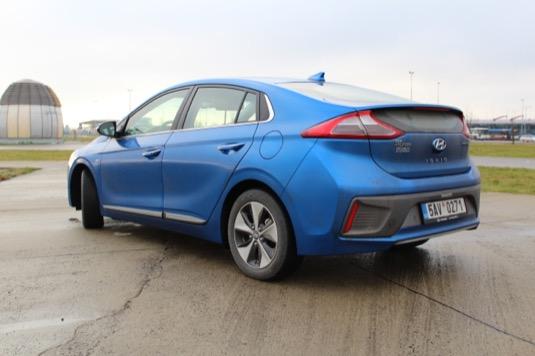 elektromobil hyundai ioniq electric test