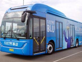 auto elektrobus BYD ElectriBlu Toro Sydney letiště