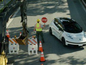 auto Nissan robotická auta Seamless Autonomous Mobility