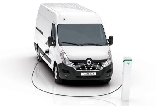 auto elektrická dodávka elektrododávka Renault Master Z.E.