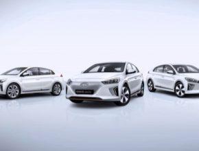 Vozy Hyundai Ioniq jsou k dispozici ve verzi Electric, Hybrid a Plug-in Hybrid