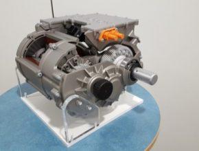 auto elektromotor elektrický pohonný systém Bosch eAxle