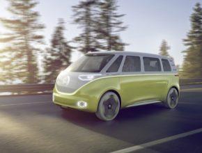 auto autosalon Detroit 2017 Volkswagen I.D. Buzz