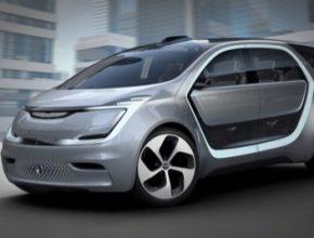 auto elektromobil Chrysler Portal Concept CES 2017