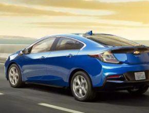 auto Chevrolet Volt plug-in hybrid