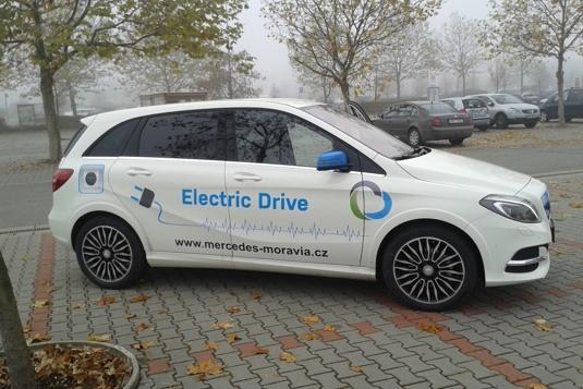 auto elektromobil Mercedes-Benz třídy B ED Electric Drive test