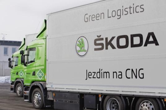 Škoda kamiony na CNG