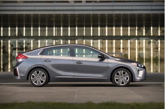 auto Hyundai Ioniq USA hit