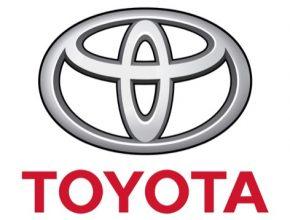 auto logo Toyota znak