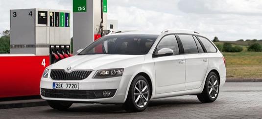 auto na plyn Škoda Octavia G-TEC nejprodávanější CNG vůz v ČR