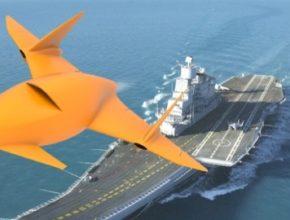 auto bezpilotní proudové drony CANTAS