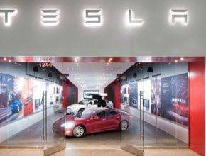 auto elektromobily Tesla Model S store obchod Walnut Creek