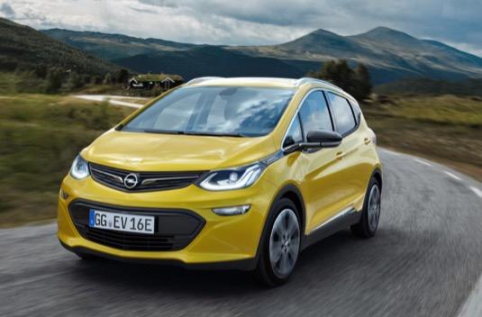 auto elektromobil Opel Ampera-e
