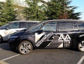 auto autonomní samořiditelné částečně robotické vozy skupiny PSA Peugeot Citroen
