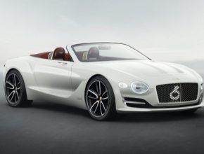Autosalon Ženeva 2017: elektrický kabriolet od Bentley ujede 500 km na jedno nabití