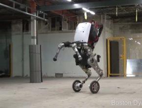 auto Boston Dynamics robot Handle