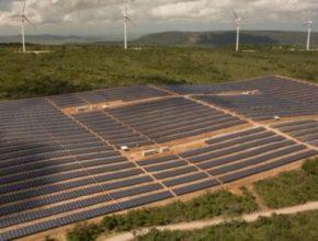 auto ENEL Brazílie solární elektrárna větrné turbíny