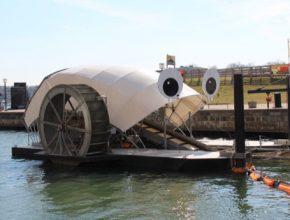Mr. Trash Wheel - obří čistička městských řek funguje a jde do světa
