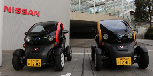 auto Nissan Renault Twizy Jokohama
