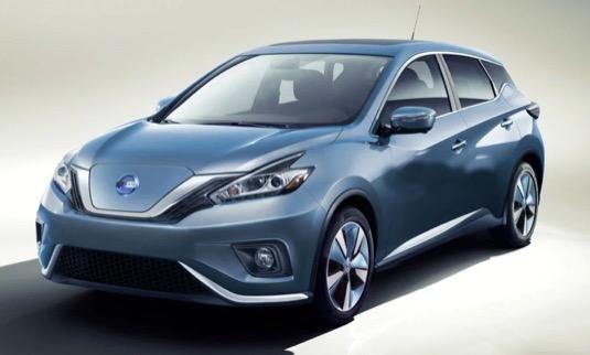 auto elektromobil Nissan Leaf nová generace 2017