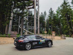 auto speciál Kreisel Electric na 5. ročníku New Energies Rallye Český Krumlov 2017