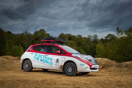 elektromobil Nissan Leaf AT-EV