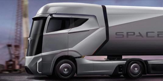 auto elektromobil Tesla elektrický truck kamion tahač Jan Peisert