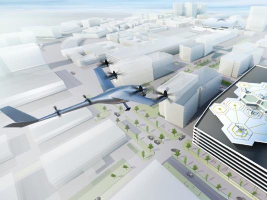 Uber Elevate - elektrické létající taxíky eVTOL