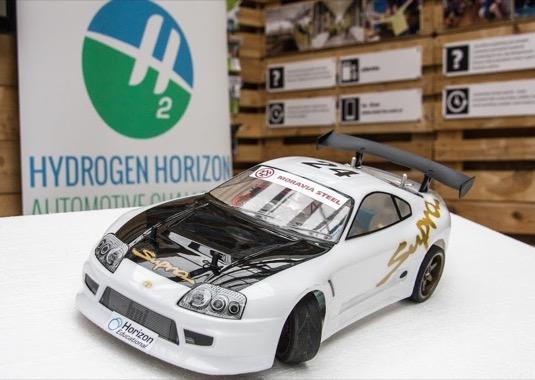 auto vítězný model auta na vodík