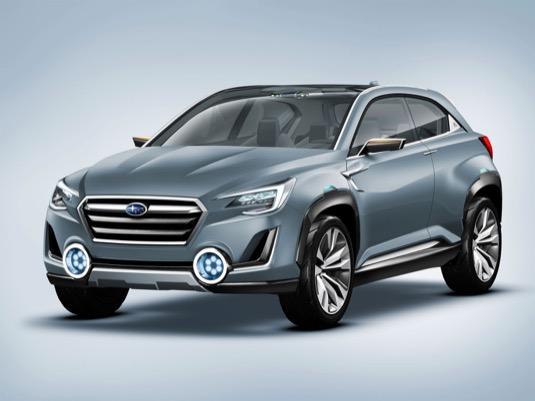 auto Subaru Viziv 2 koncept plug-in hybrid elektromobil