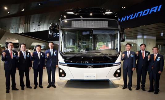 auto elektrobus Hyundai Elec City