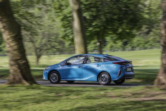 Toyota Prius PHV plug-in hybrid