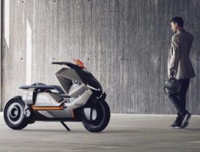 auto elektroskútr BMW Motorrad Concept Link