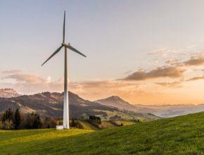 větrná turbína elektrárna