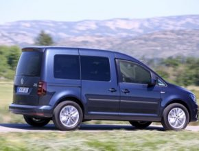 Volkswagen Caddy TGI patří mezi krále dojezdu čistě na stlačený zemní plyn