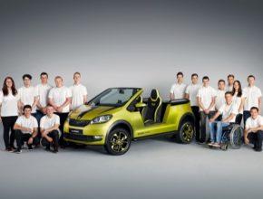 Po třech úspěšných studiích vozů z předchozích tří let se nyní učni rozhodli pro elektricky poháněnou buginu, která dostala jméno Škoda Element.