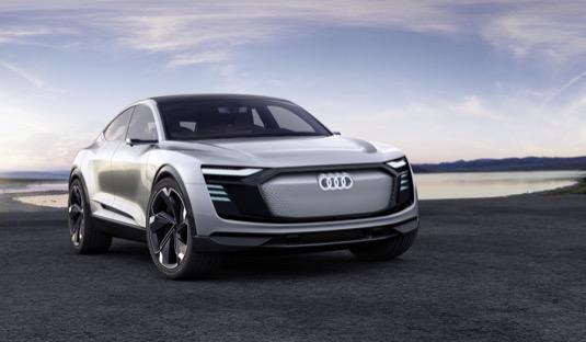 auto elektromobily Audi e-tron Sportback