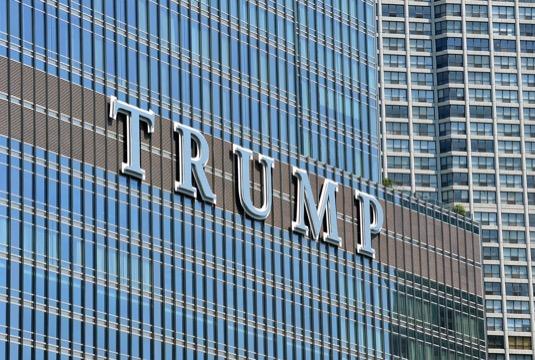 auto Donald Trump Tower New York