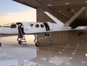 auto elektroletadlo elektrické letadlo Eviation