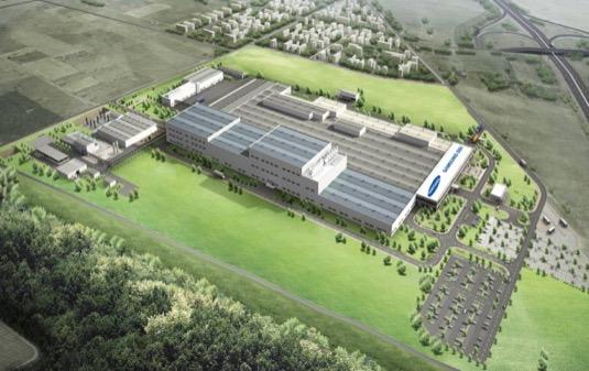 auto továrna Samsung SDI Goed Maďarsko