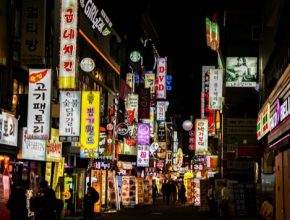 Jižní Korea Soul noční život