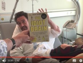 auto Richard Hammond nehoda ve Švýcarsku nemocnice elektromobil Rimac Idiots Brain